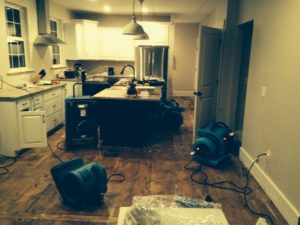 Basement Flood Cleanup Cincinnati, Ohio, 45248